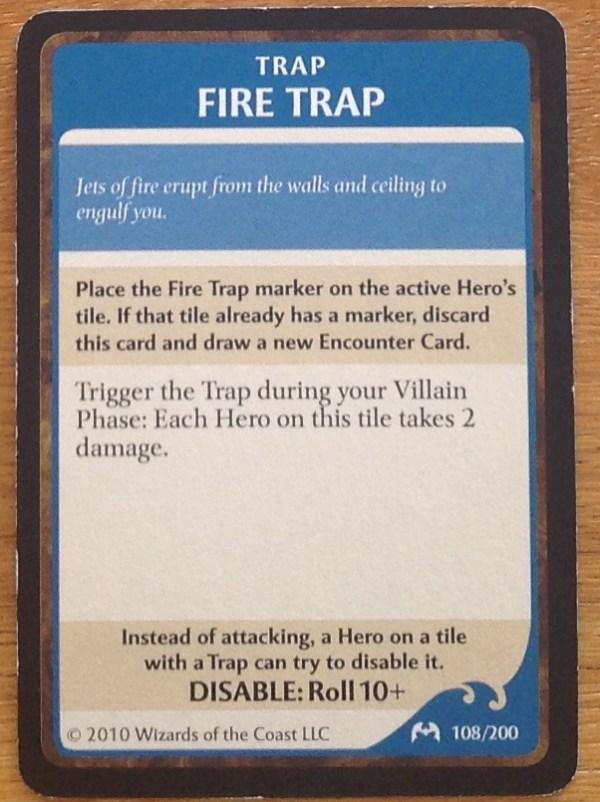 Fire Trap, Castle Ravenloft