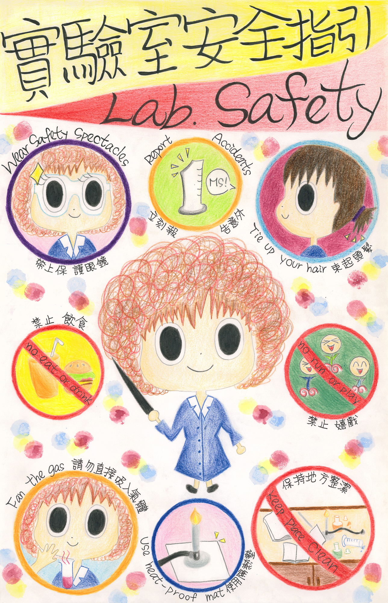 Laboratory Safety Poster Design Competition