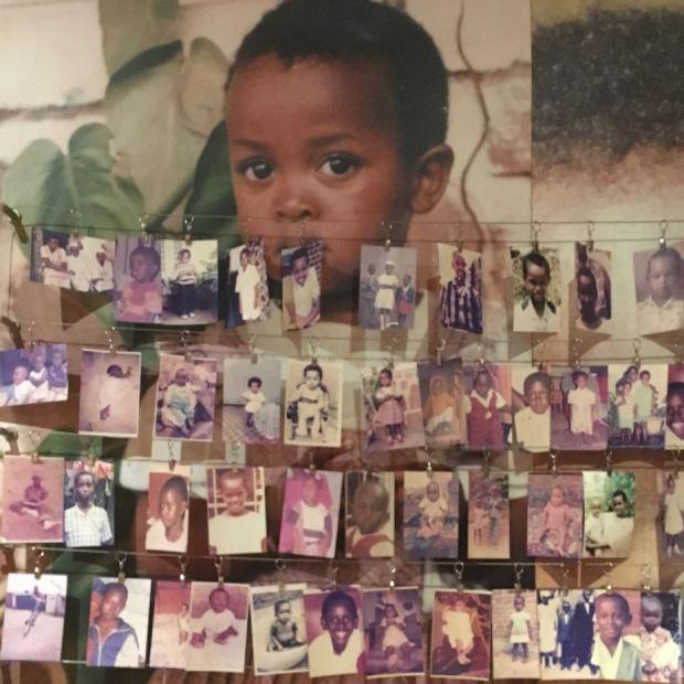 Le Mémorial des enfants au Memorial Genocide Center, Gisozi, Kigali. 2018. © Mémorial de la Shoah, Paris.