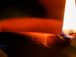 Almud y la lampara