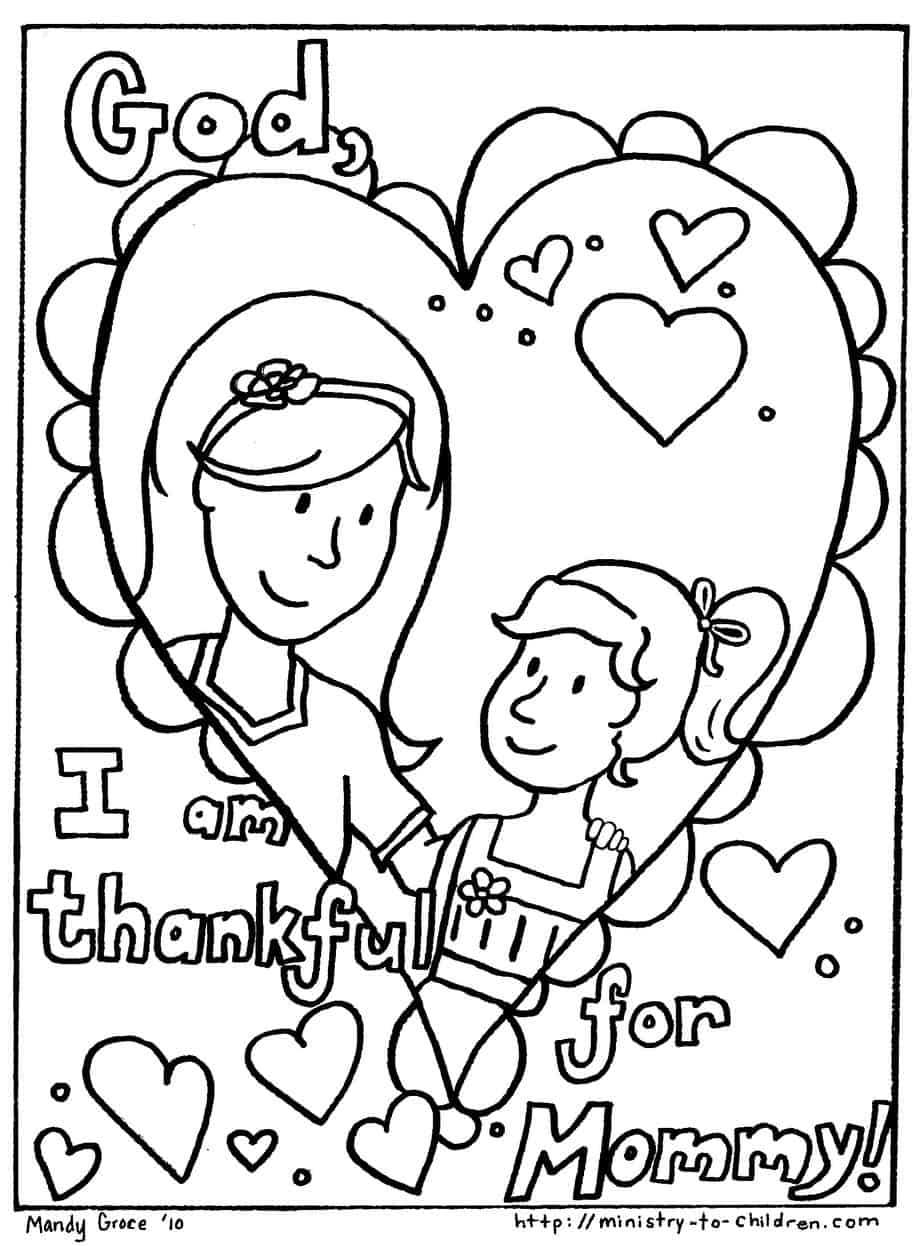 - Mother's Day Coloring Pages (100% Free) Easy Print PDF