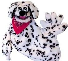 Firedog puppet