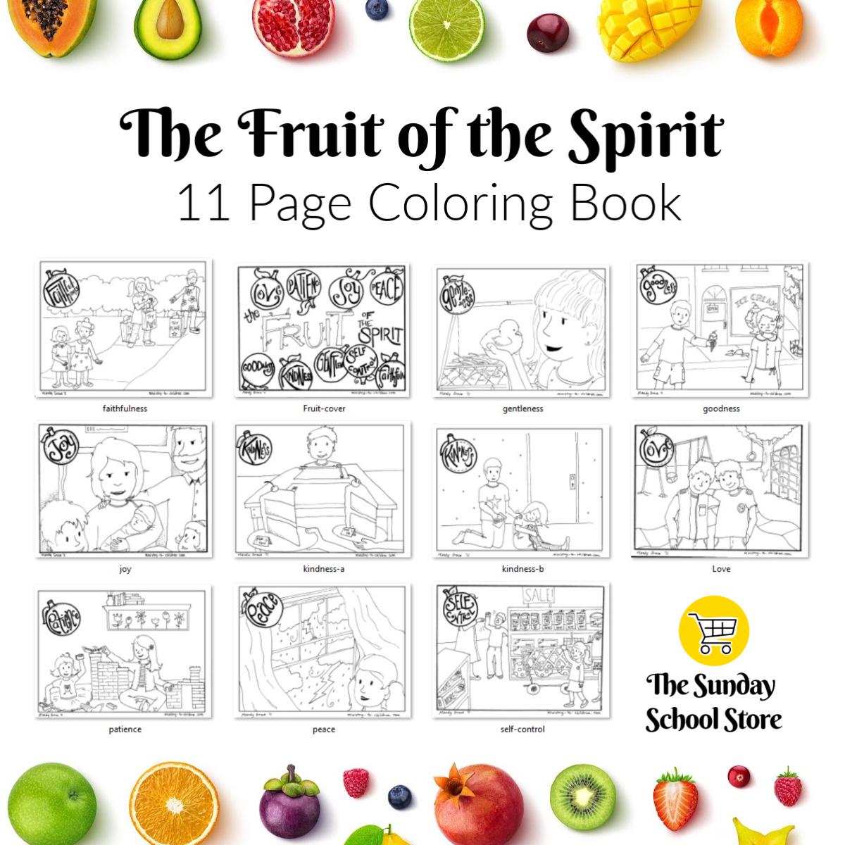 - Fruit Of The Spirit Coloring Book Azspringtrainingexperience