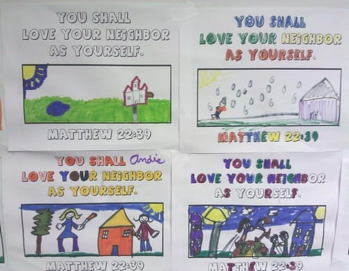 love others coloring page