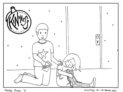 Kindness Coloring Page