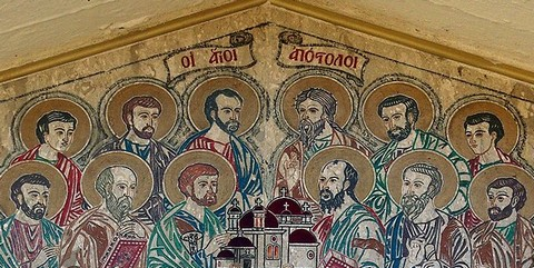 The Twelve Apostles Ancient Artwork