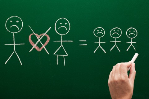 children and divorce symbols