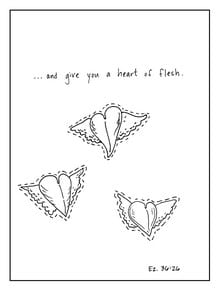 Heart of Flesh coloring page