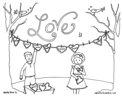5 Free Valentines Day Coloring Pages — Ministry-To