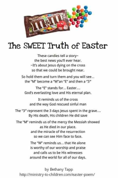Printable Easter Poem for Kids