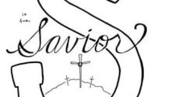 U is for Unity Bible Alphabet Coloring Page