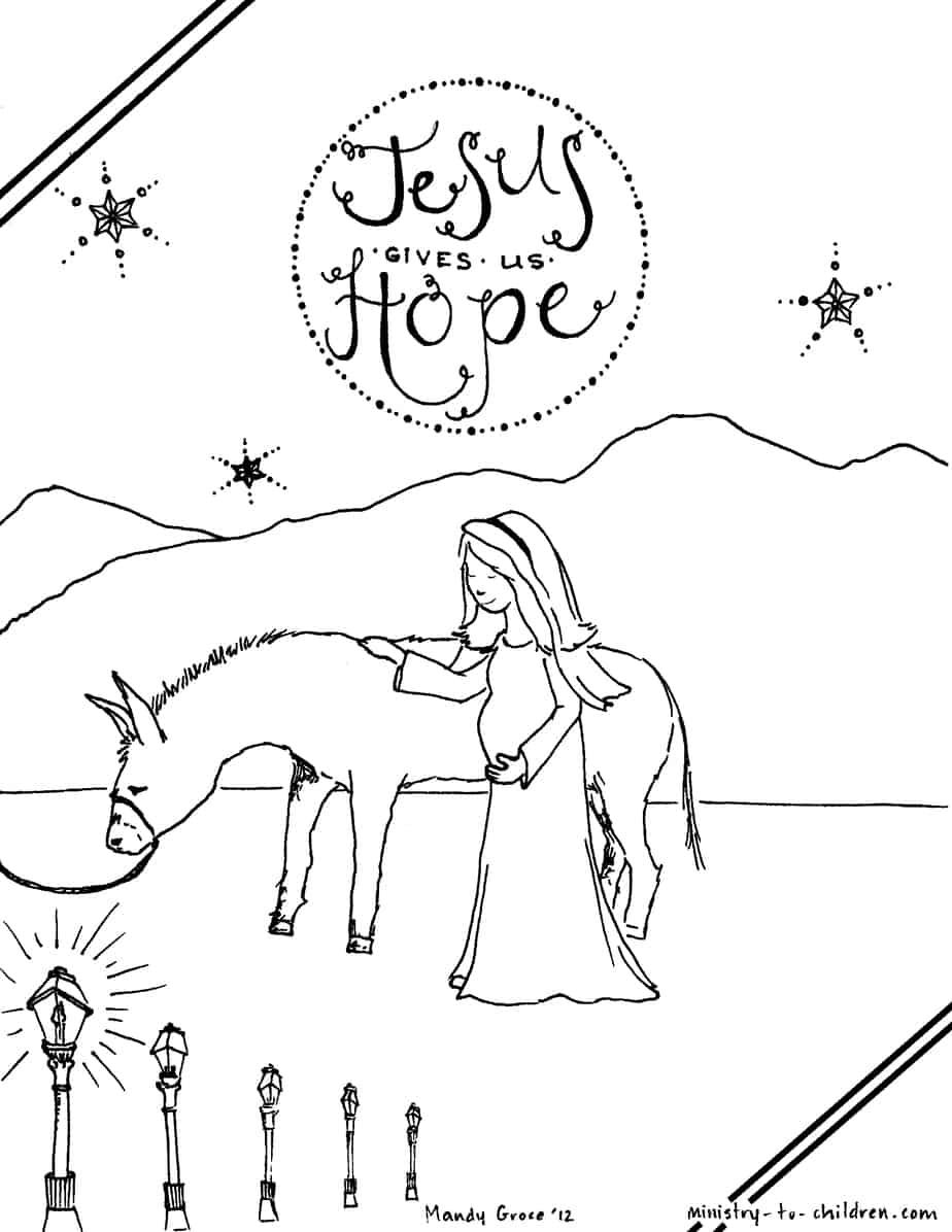 Lesson: God Sends an Angel to Visit Joseph (Matthew 1:18