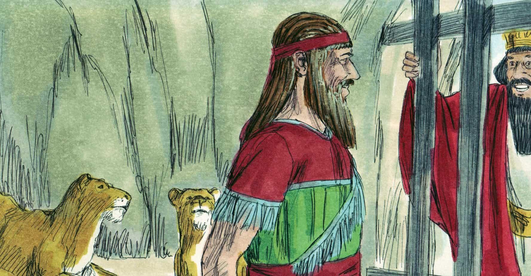 Daniel And The Lion S Den Preschool Bible Lesson