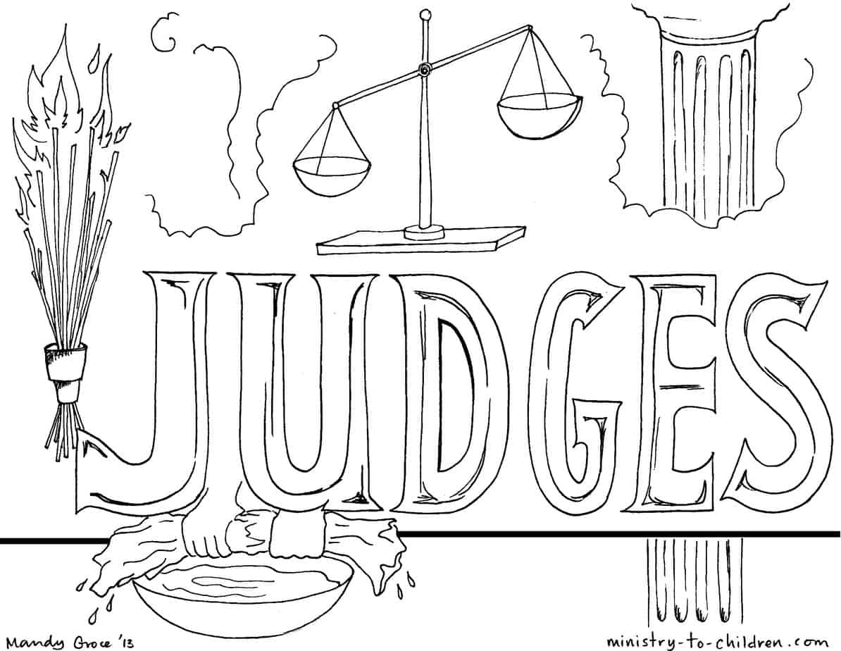 Judges Worksheet