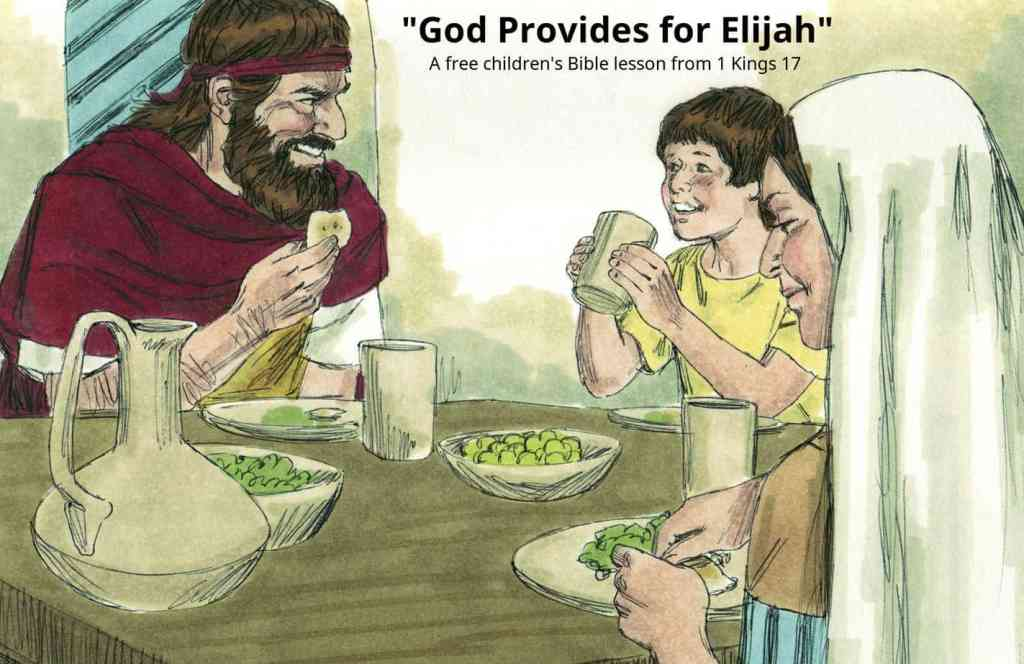 Lesson God Provides For Elijah 1 Kings 171 16 Ministry To