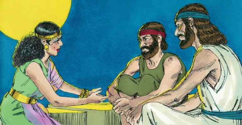 Rahab and the Spies (Joshua 2)