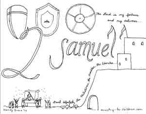 2 Samuel coloring page