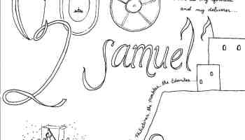 Book of 1 Samuel Bible Coloring Page