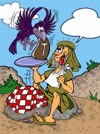 Ravens feed Elijah