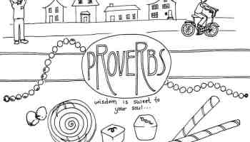 T is for Trust Bible Alphabet Coloring Page