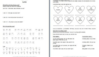 Worksheets Bible Worksheets For Preschoolers bible worksheet learn about gods commandments free printable love worksheets
