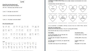 Printables Ten Commandments Worksheets bible worksheet learn about gods commandments free printable love worksheets