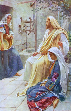 Devotional: Shifting from Martha to Mary