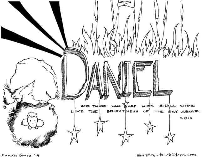 Book of Daniel Coloring Page