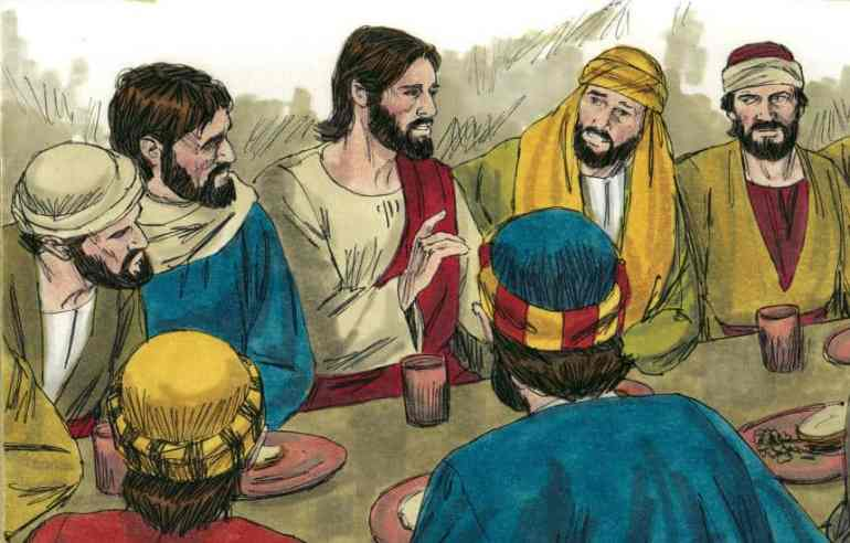 """""""The Lord's Supper"""" Bible Skit for Children"""