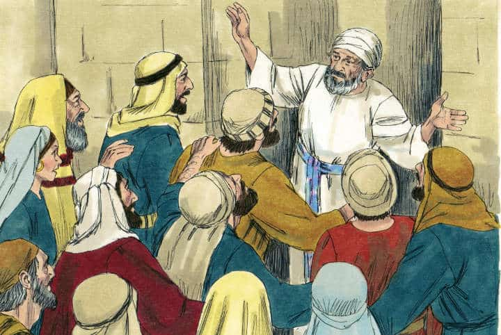 """Bible Lesson """"Messages and Messiahs"""" from Zechariah 9:9-11"""