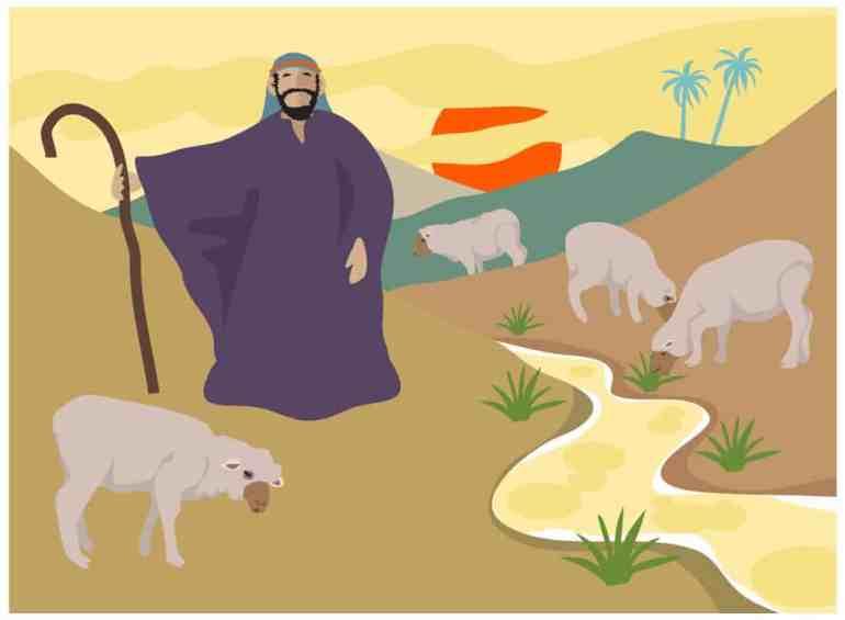 The Good Shepherd Object Lesson from John 10:11-15