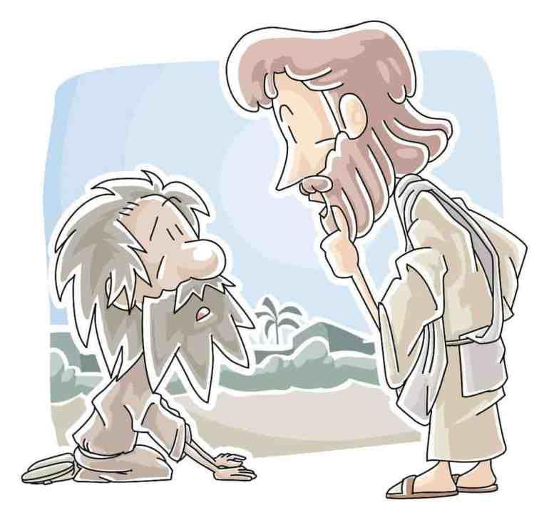 14 Best 10 Melaatsen Jesus Heals 10 Lepers Images On for Jesus ... | 729x770