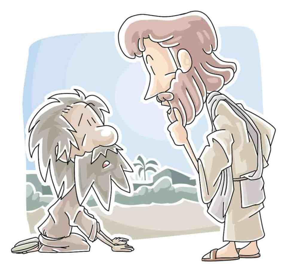 One Thankful Leper: Teaching Skit from Luke17:11-19