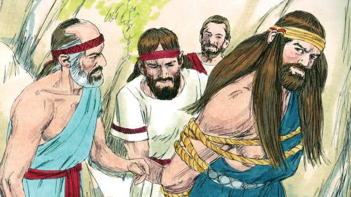 Sunday School Lesson: Samson-God's judge chosen before birth (Judges 13-16)
