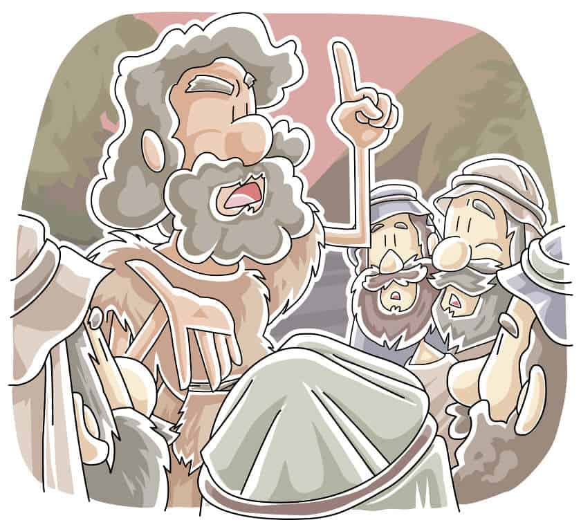 """""""Preparing for Jesus""""  Lectionary Lesson from Mark 1:1-8"""
