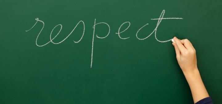 The R-E-S-P-E-C-T Acronym: A Respect Teaching Tool