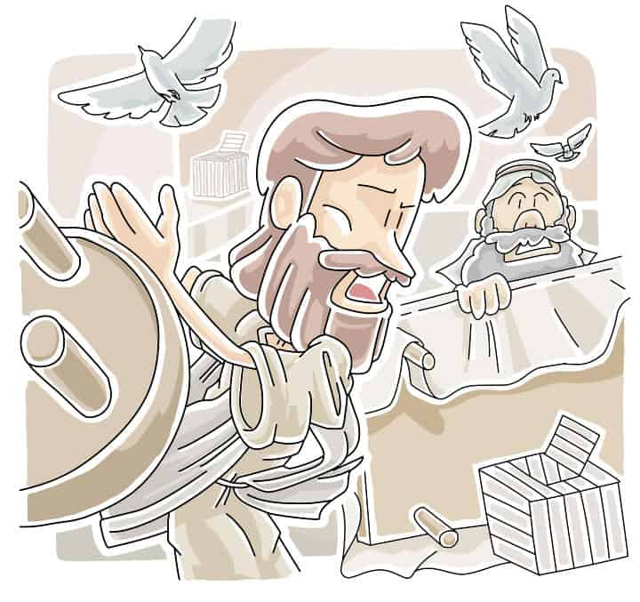 Lectionary Lesson: Jesus Cleared the Temple (John 2:13-22)