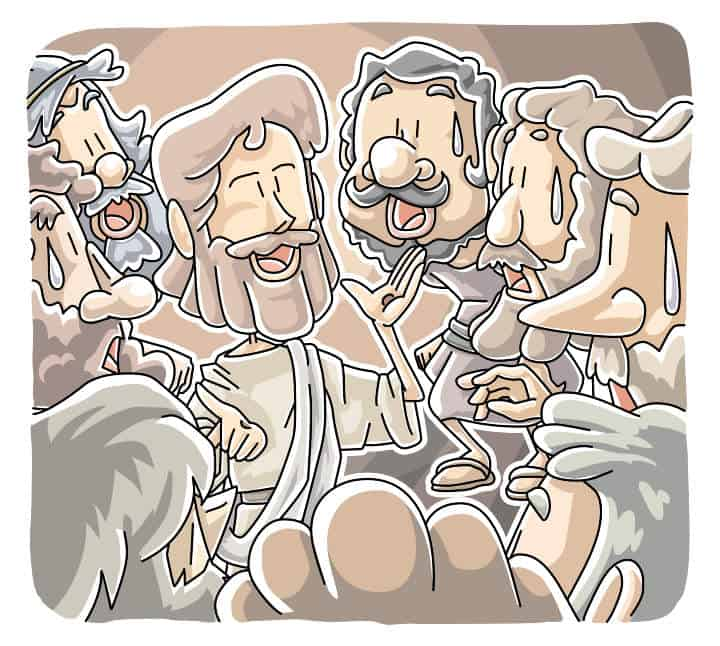 """Understanding Scripture"" Lectionary Lesson (Luke 24:36b-48) Emmaus Road"