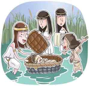 God Saves Baby Moses (Exodus 1-2:10) Sunday School Lesson
