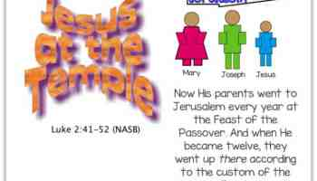 Young Boy Jesus in the Temple Coloring Page Luke 24152