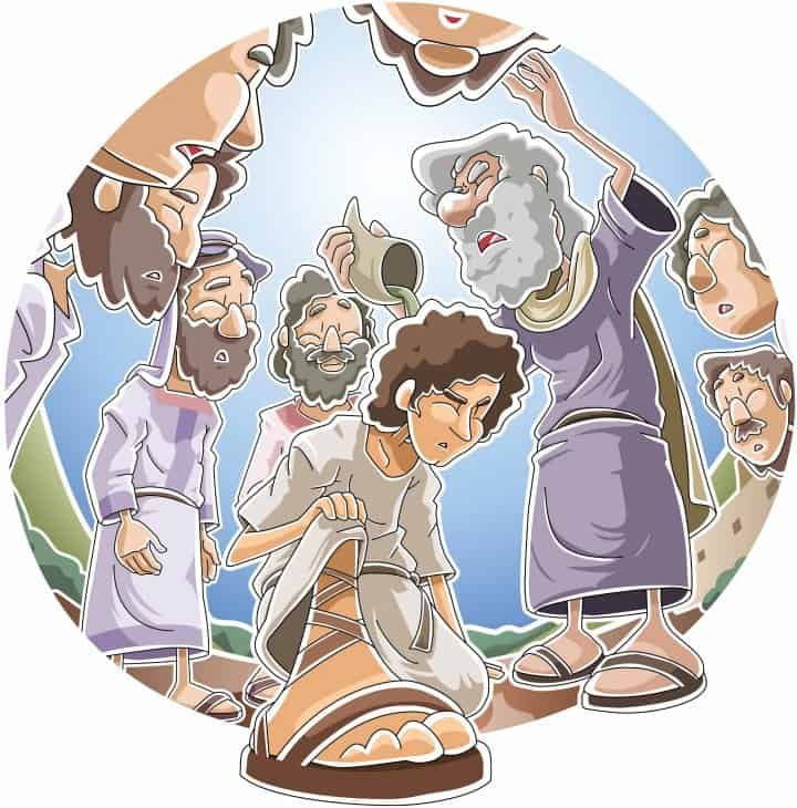David is Chosen as King (1 Samuel 16) Preschool Bible Lesson