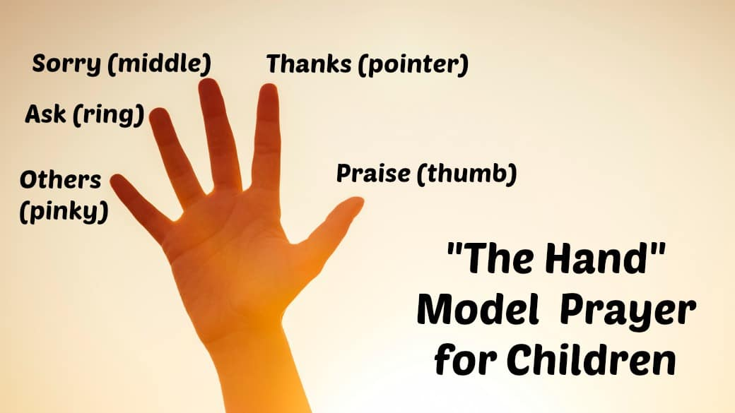 Doing crafts with your kids can help develop their coordination, improve visual processing abilities, hone fine motor skills in the smallest kids, and allow children of all ages to express themselv. The Prayer Hand For Kids Lord S Prayer Ministry To Children