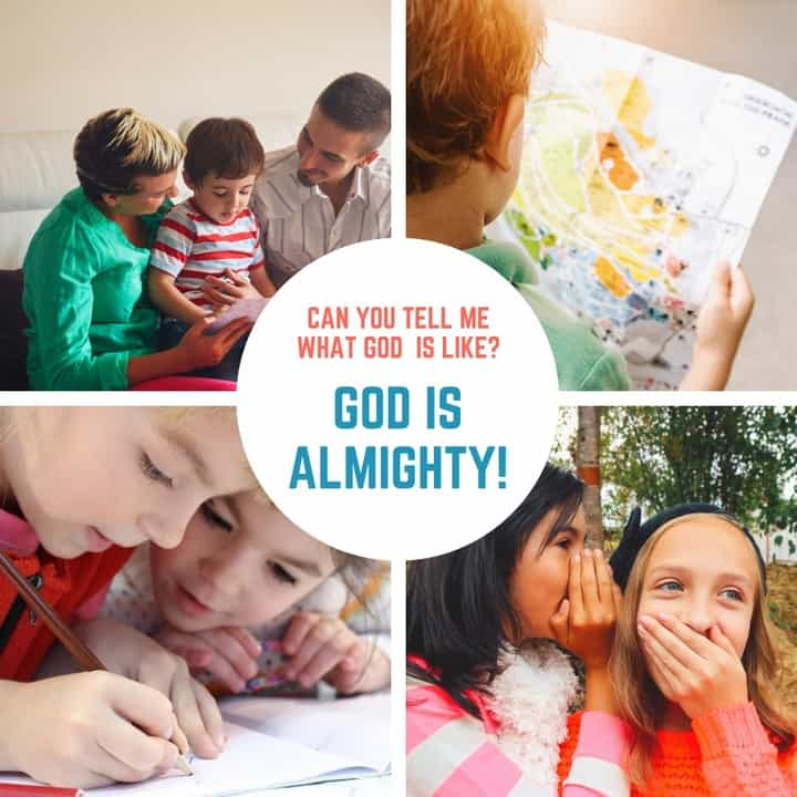 God is Almighty Lesson 1 in What