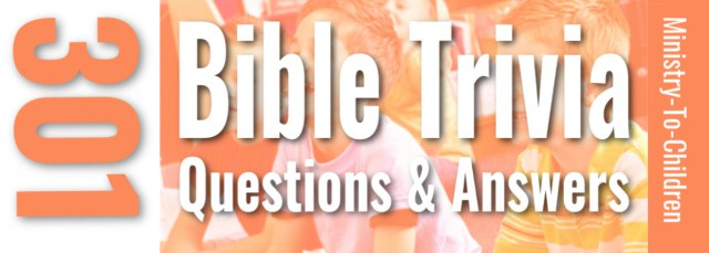 Bible Trivia questions for Kids - Biblical Quiz review game