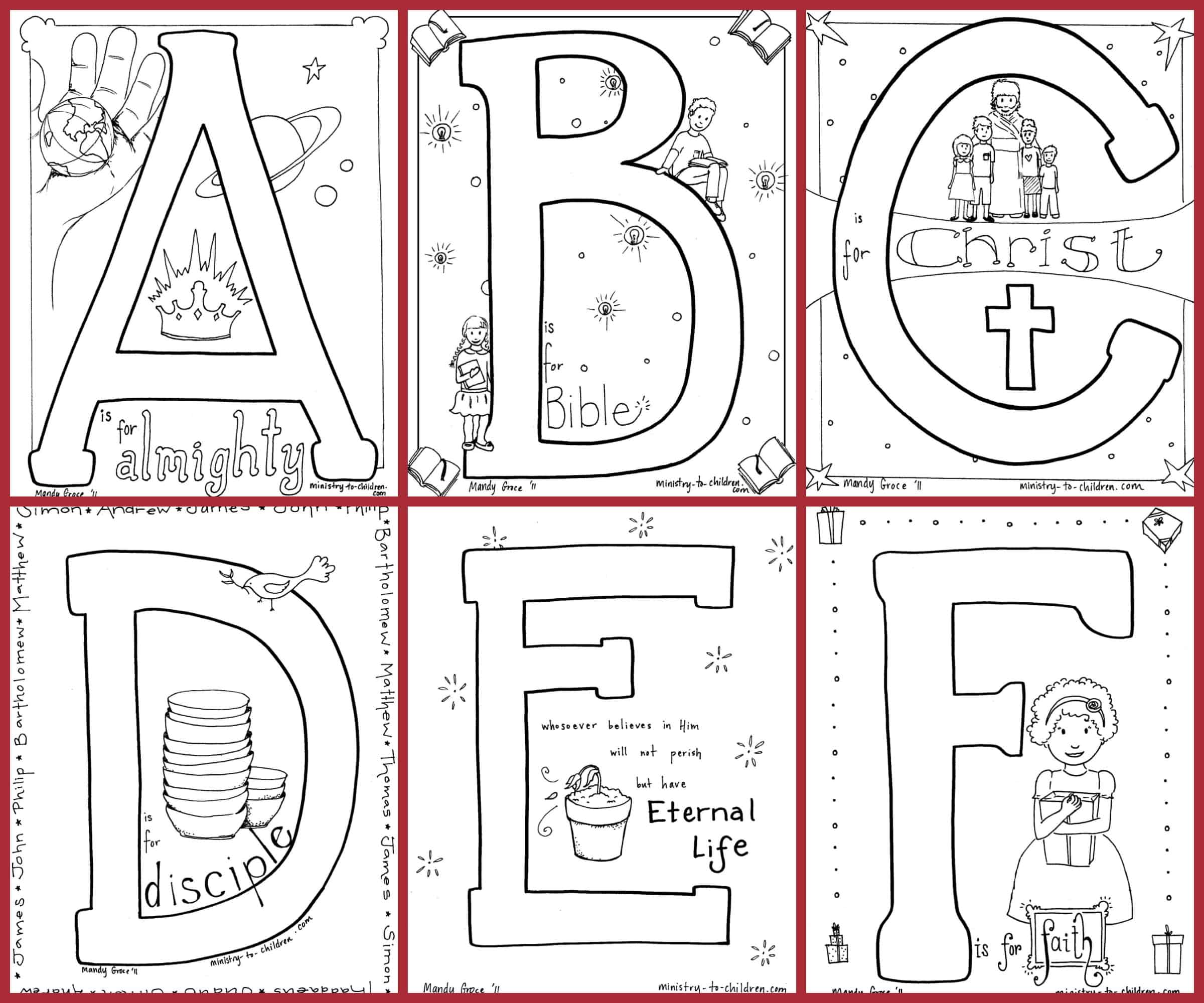 10 Best Bible Book Coloring Page For Kids
