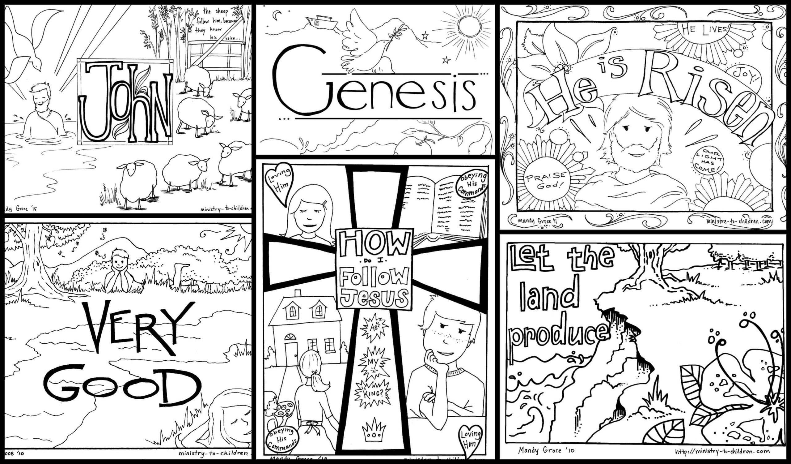 - Bible Coloring Pages For Kids (100% Free) Printables