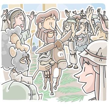 Triumphant Entry - Jesus on Palm Sunday