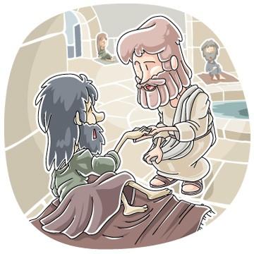 Healing at the pool of Bethesda (John 5:1-9) children's sermon