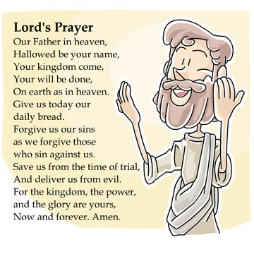 Lords Prayer for Kids