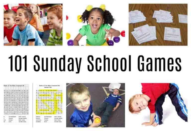 101 Sunday School Games to make Bible learning fun for Kids